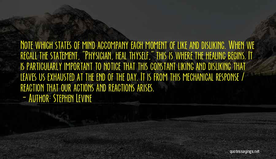 Physician Heal Thyself Quotes By Stephen Levine