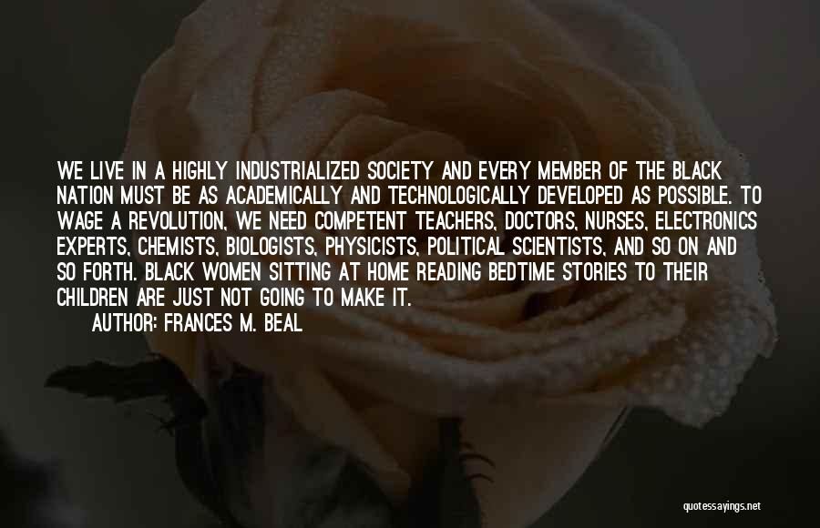 Physicists Quotes By Frances M. Beal