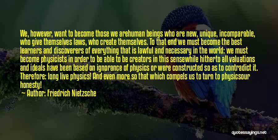 Physicists Quotes By Friedrich Nietzsche