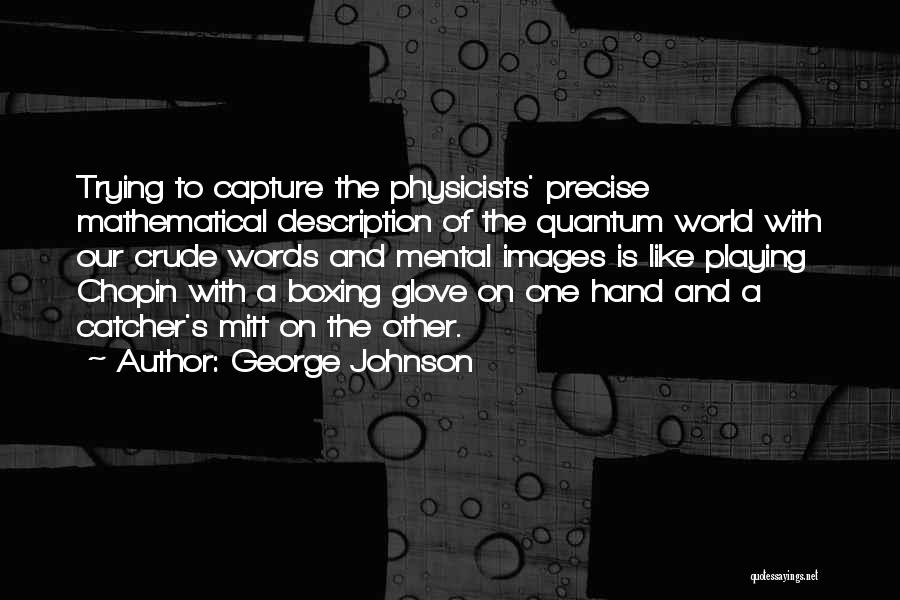 Physicists Quotes By George Johnson