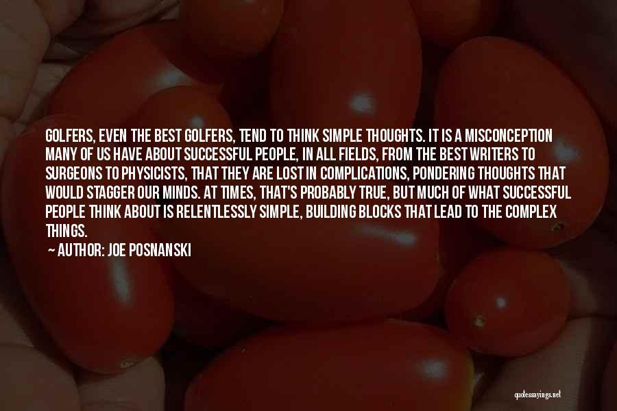 Physicists Quotes By Joe Posnanski