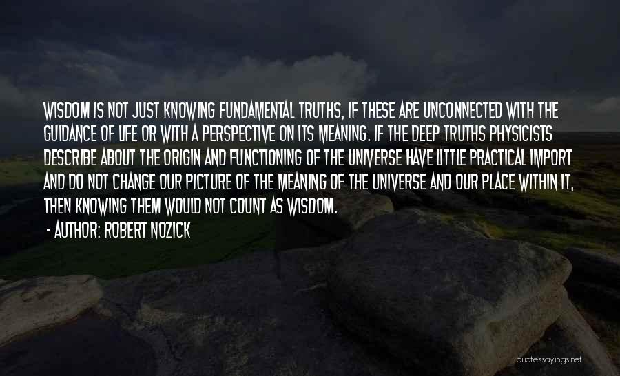 Physicists Quotes By Robert Nozick