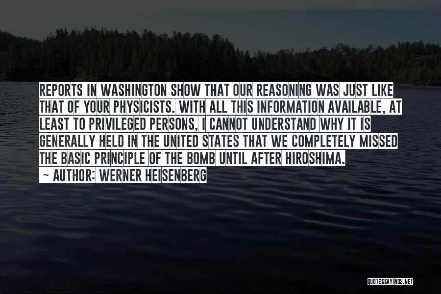 Physicists Quotes By Werner Heisenberg