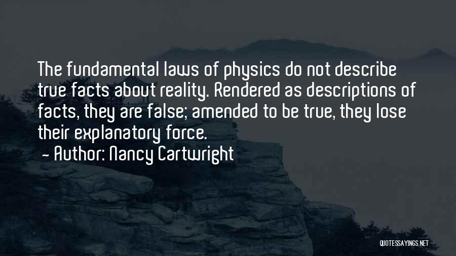 Physics Quotes By Nancy Cartwright