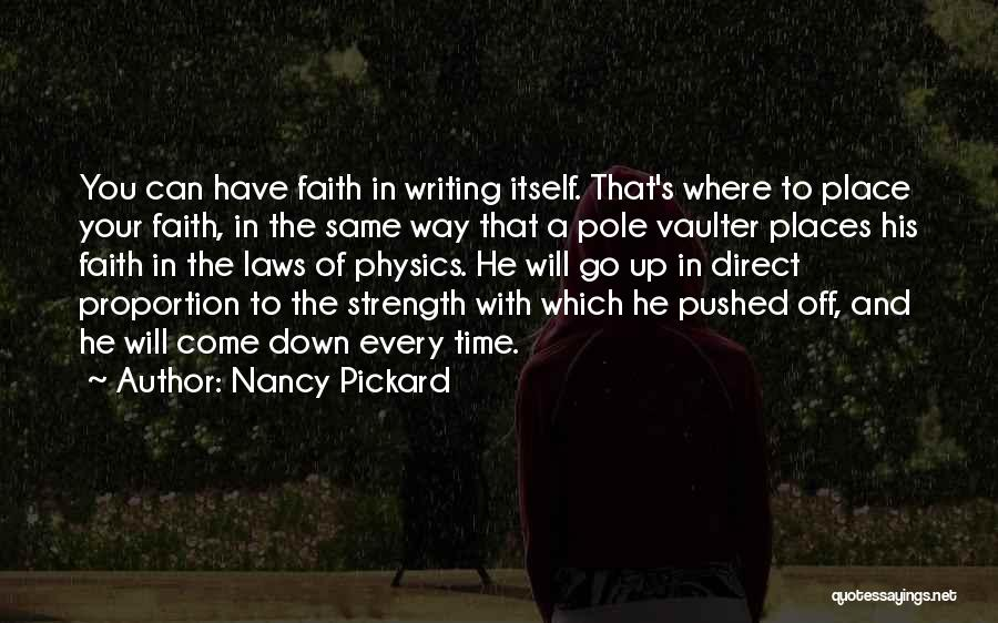 Physics Quotes By Nancy Pickard