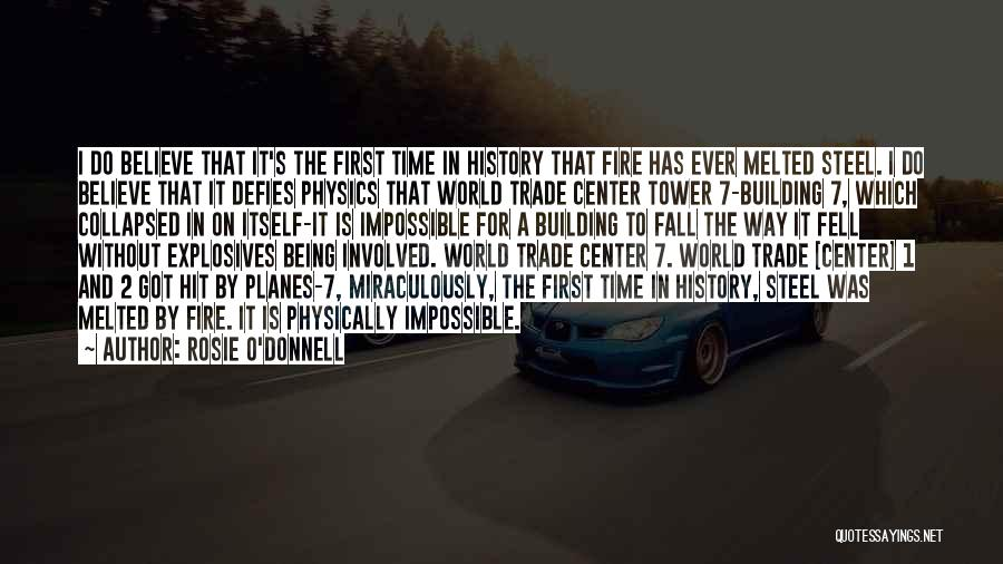 Physics Quotes By Rosie O'Donnell