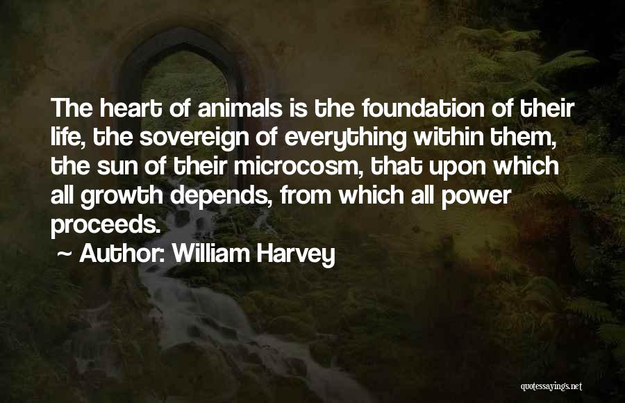 Physiology Life Quotes By William Harvey