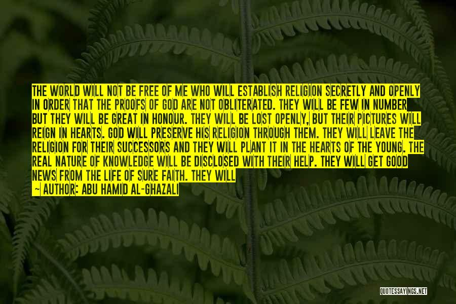 Pictures Of Nature And Quotes By Abu Hamid Al-Ghazali