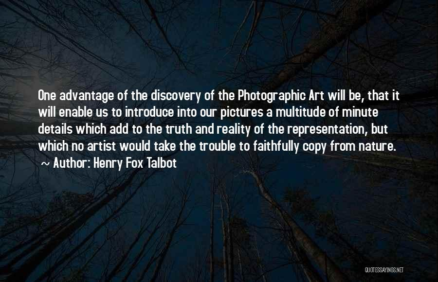 Pictures Of Nature And Quotes By Henry Fox Talbot