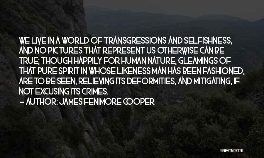 Pictures Of Nature And Quotes By James Fenimore Cooper