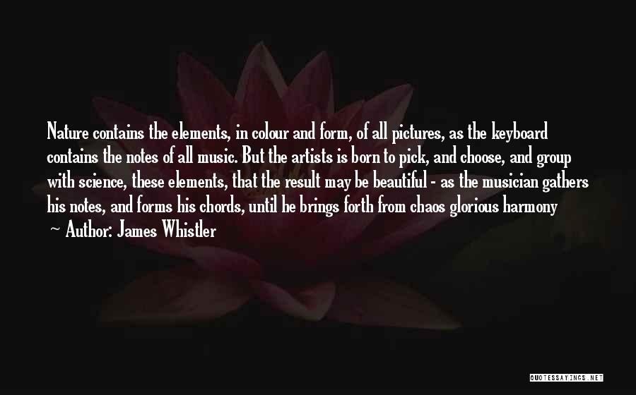 Pictures Of Nature And Quotes By James Whistler