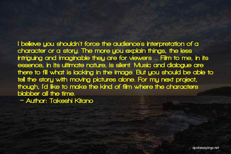 Pictures Of Nature And Quotes By Takeshi Kitano