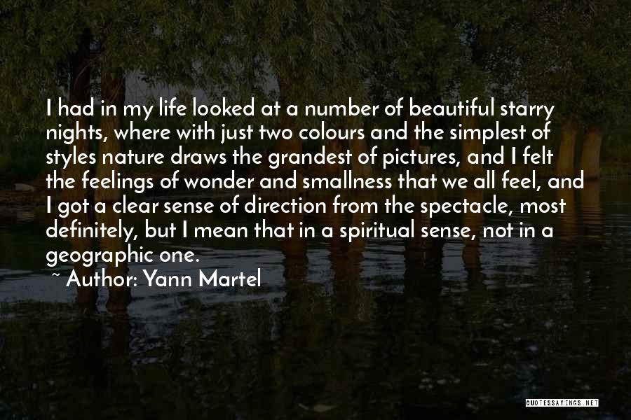 Pictures Of Nature And Quotes By Yann Martel