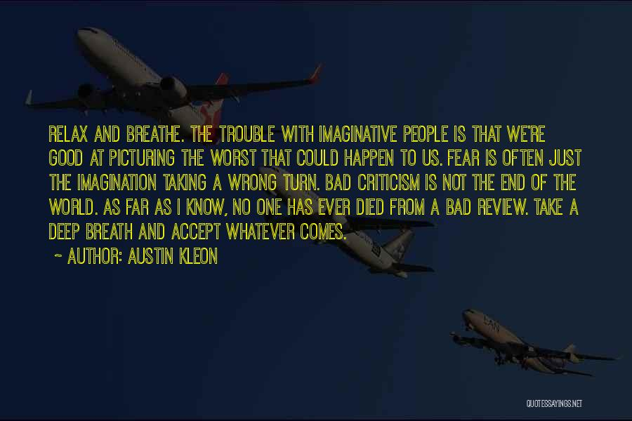 Picturing The World Quotes By Austin Kleon