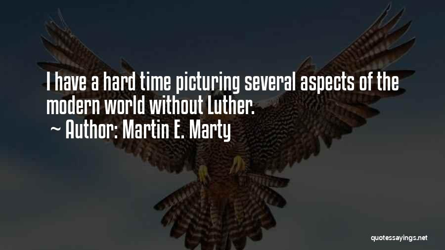 Picturing The World Quotes By Martin E. Marty