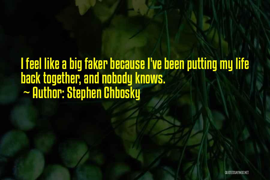 Pieces Stephen Chbosky Quotes By Stephen Chbosky