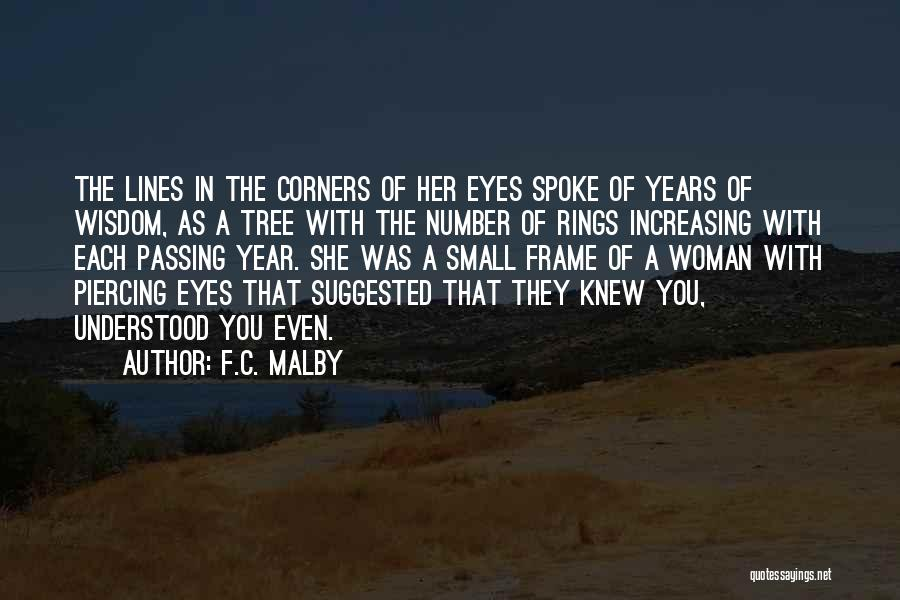 Piercing Quotes By F.C. Malby