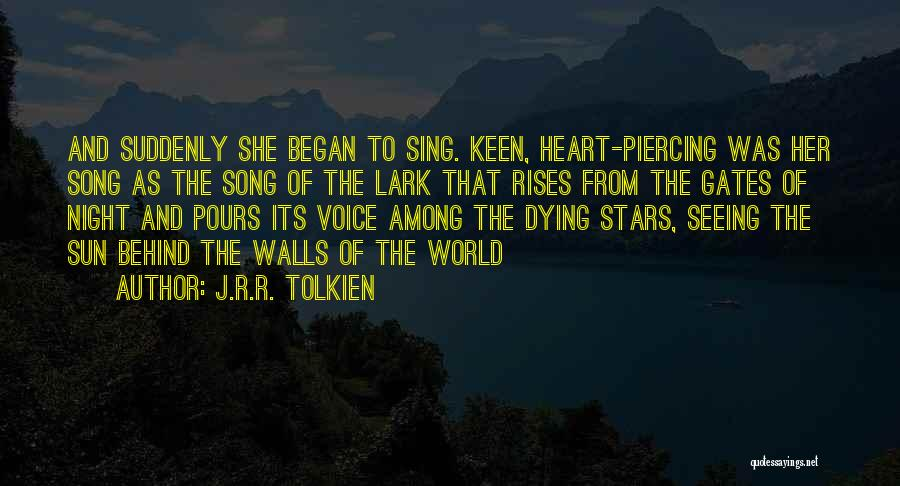 Piercing Quotes By J.R.R. Tolkien