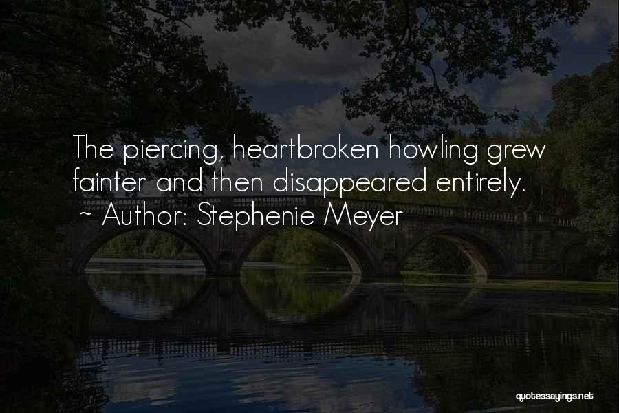 Piercing Quotes By Stephenie Meyer
