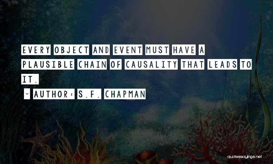 Pierre Krebs Quotes By S.F. Chapman