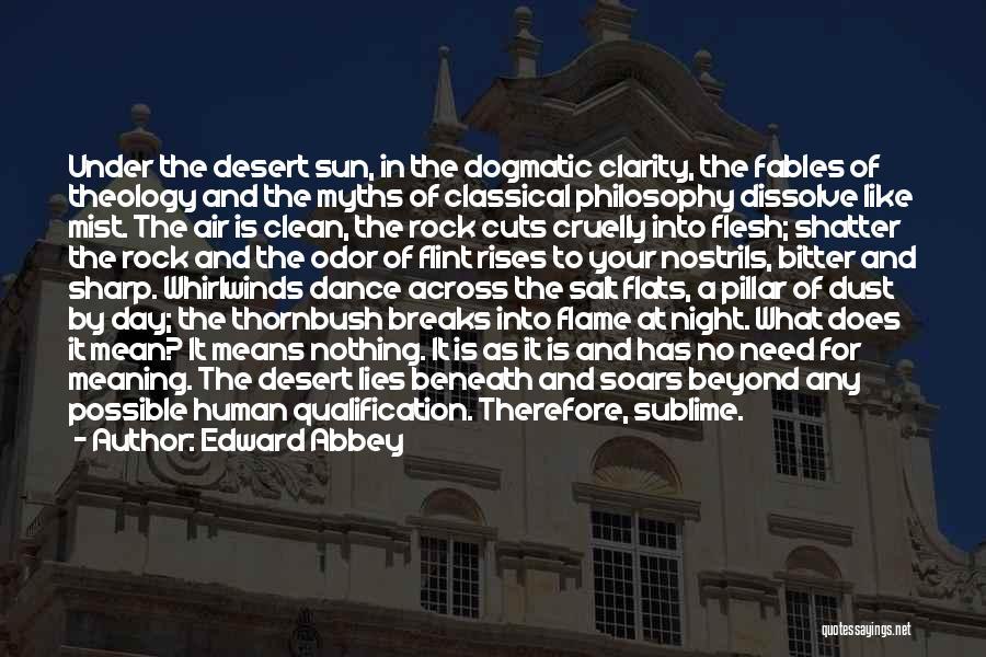 Pillar Of Salt Quotes By Edward Abbey