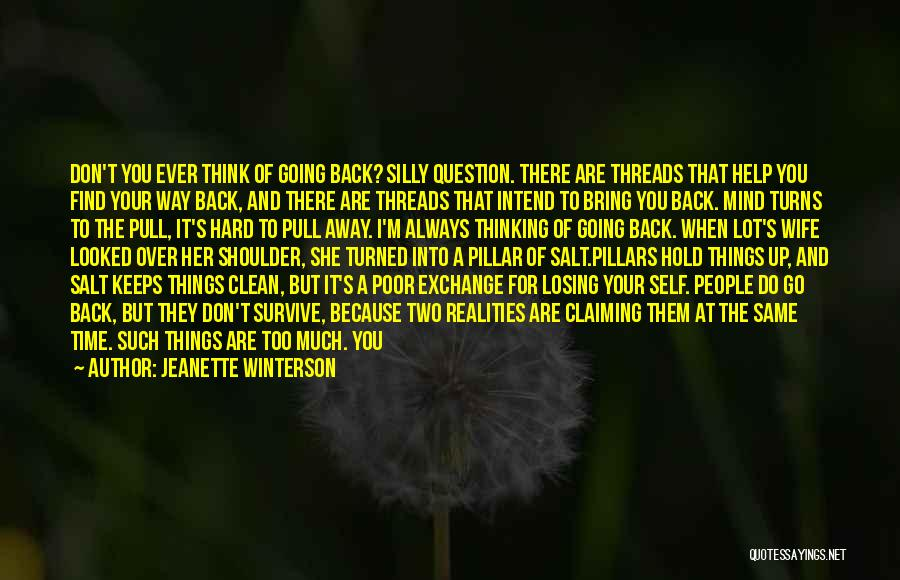 Pillar Of Salt Quotes By Jeanette Winterson