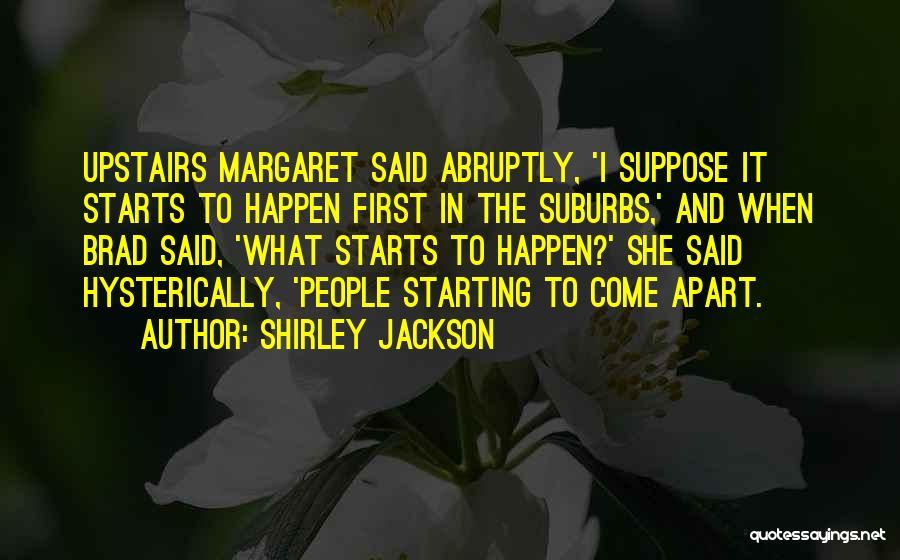 Pillar Of Salt Quotes By Shirley Jackson