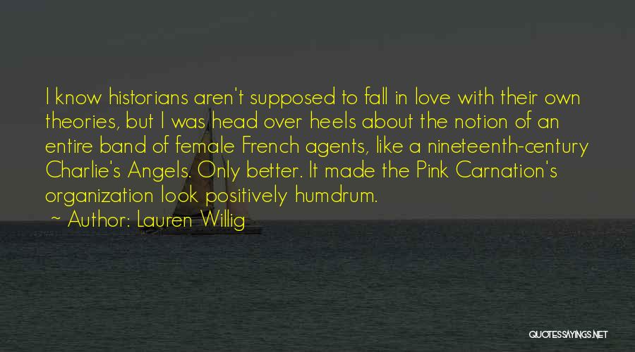 Pink Carnation Quotes By Lauren Willig
