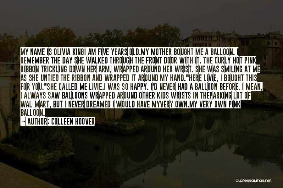 Pink Ribbon Inc Quotes By Colleen Hoover