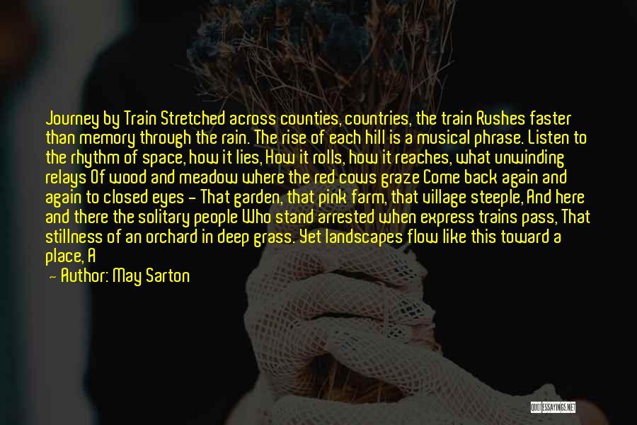 Pink Ribbon Inc Quotes By May Sarton
