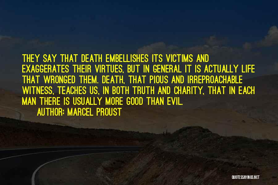 Pious Man Quotes By Marcel Proust