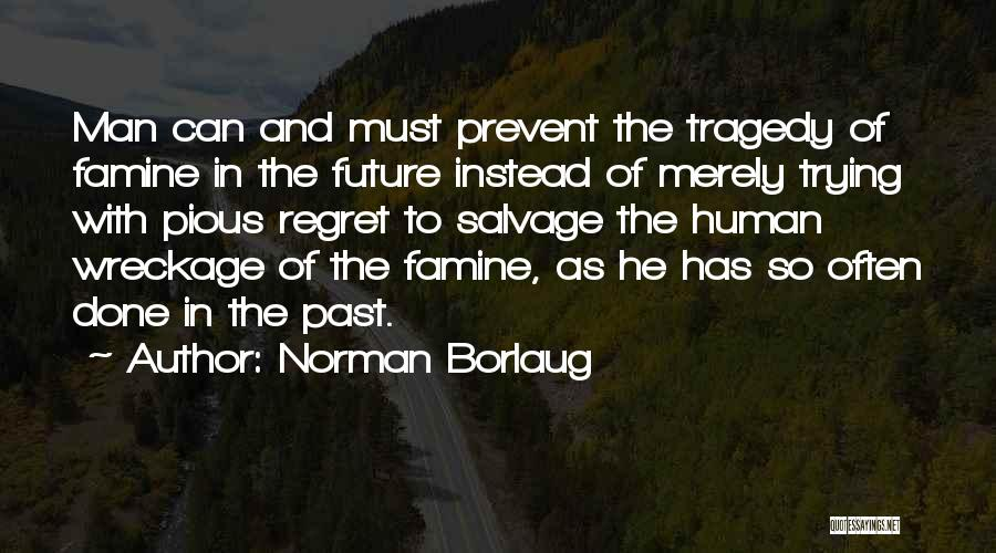 Pious Man Quotes By Norman Borlaug