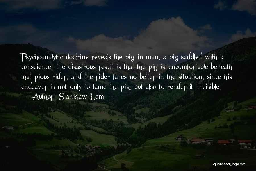 Pious Man Quotes By Stanislaw Lem