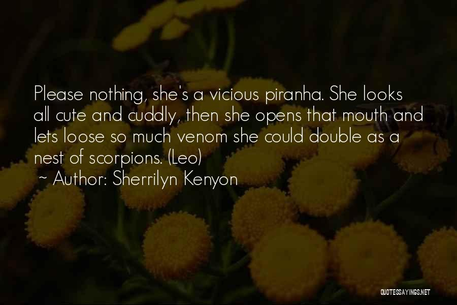 Piranha Quotes By Sherrilyn Kenyon