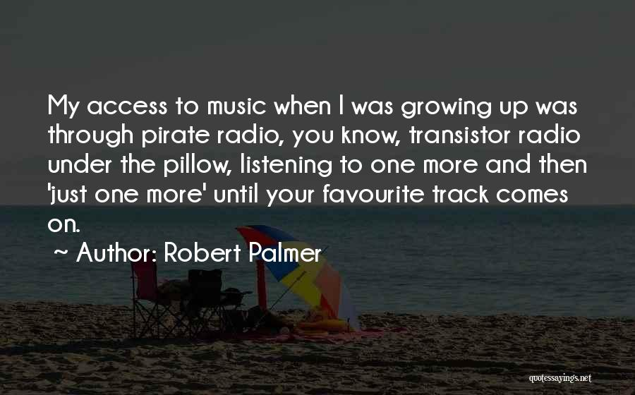 Pirate Radio Quotes By Robert Palmer