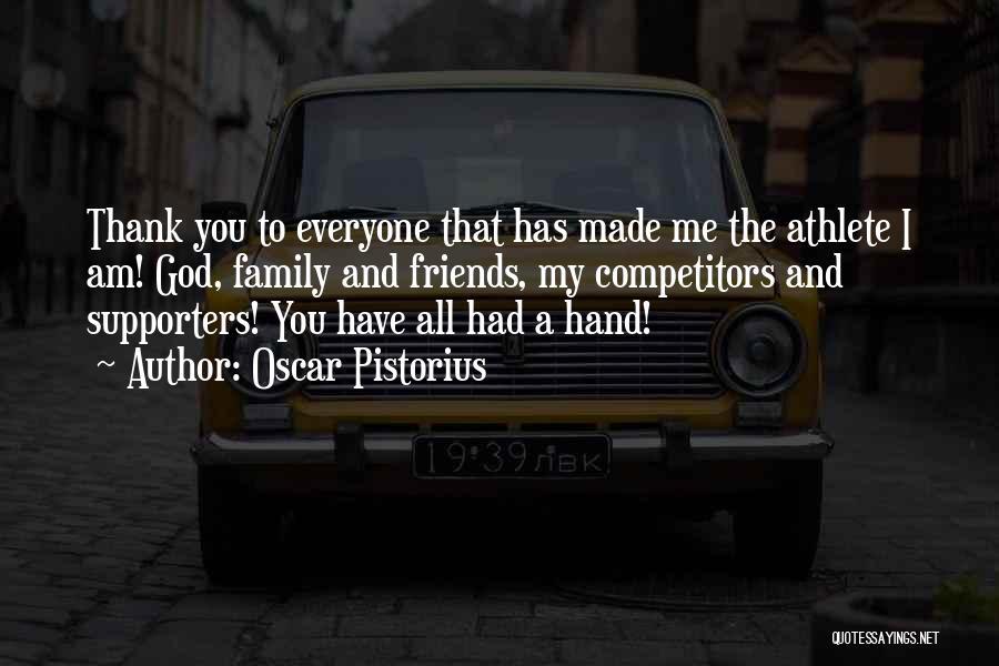 Pistorius Quotes By Oscar Pistorius