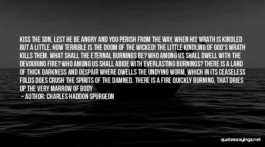 Pit Of Despair Quotes By Charles Haddon Spurgeon