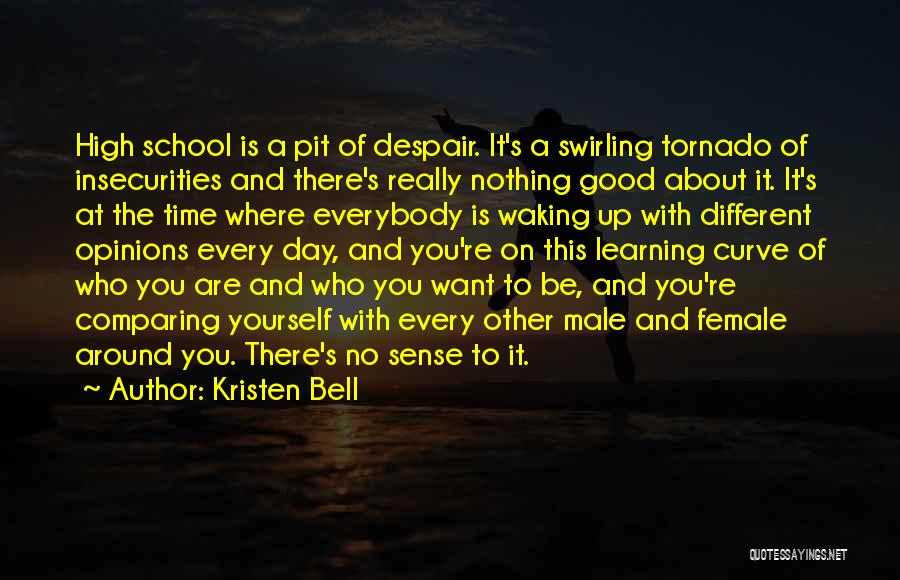 Pit Of Despair Quotes By Kristen Bell