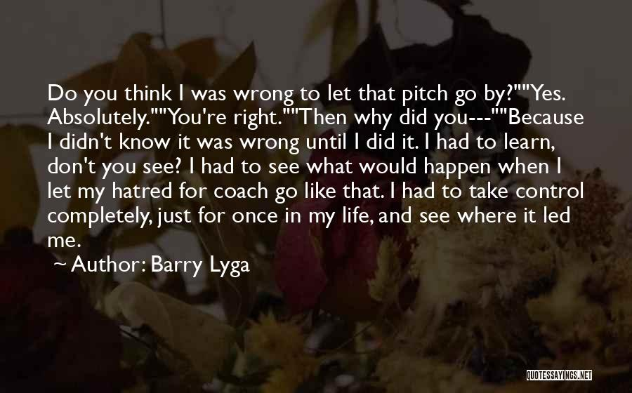Pitch Quotes By Barry Lyga