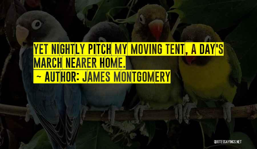 Pitch Quotes By James Montgomery