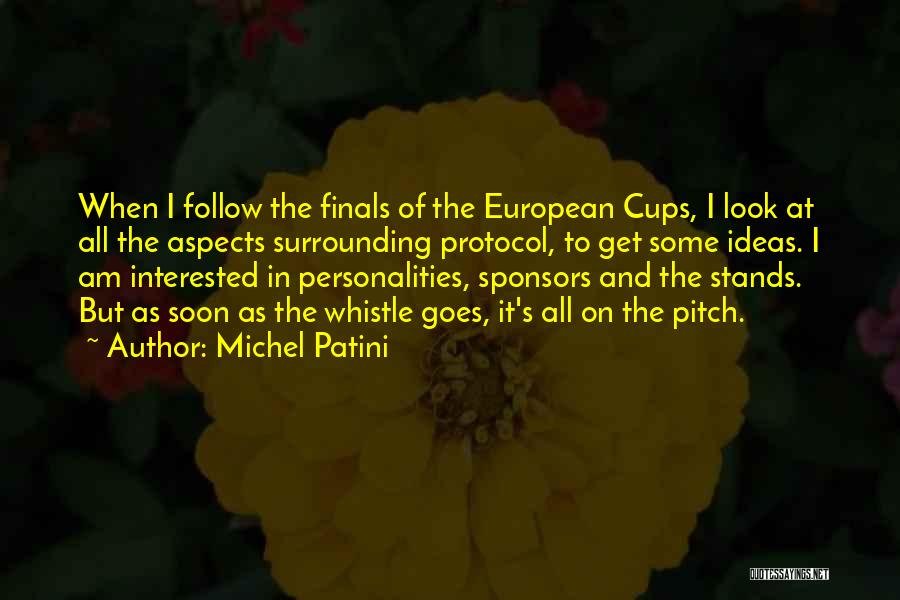 Pitch Quotes By Michel Patini