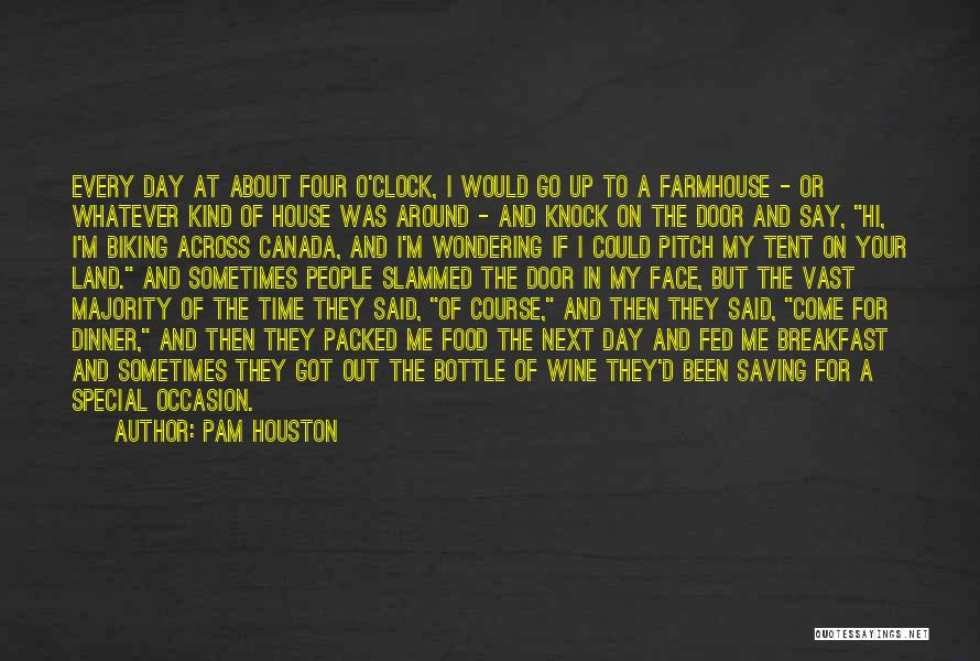 Pitch Quotes By Pam Houston