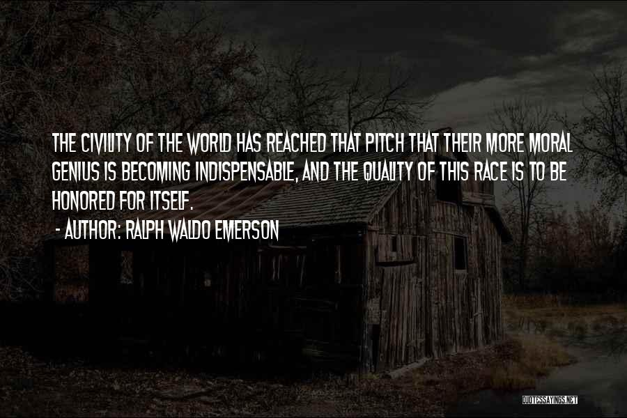 Pitch Quotes By Ralph Waldo Emerson