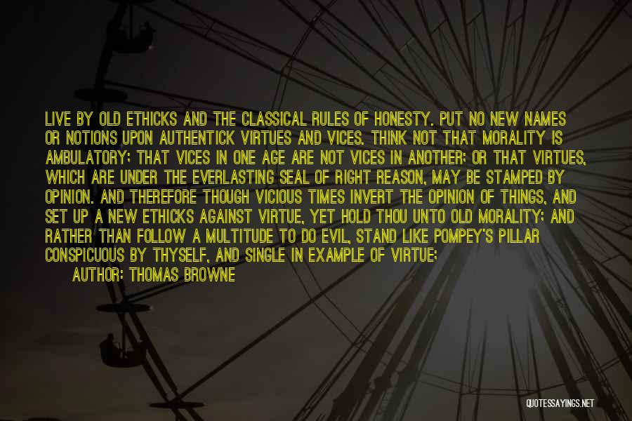 Pitch Quotes By Thomas Browne