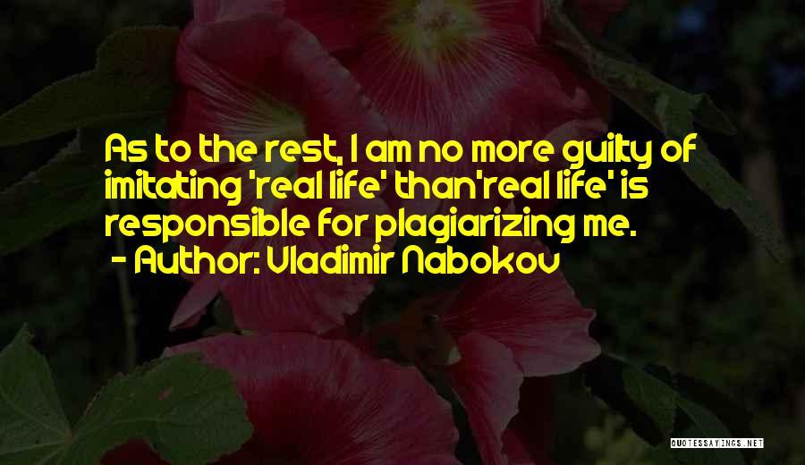 Plagiarizing Quotes By Vladimir Nabokov