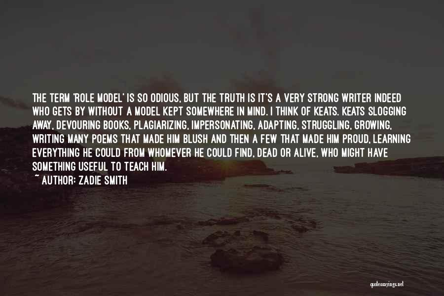 Plagiarizing Quotes By Zadie Smith