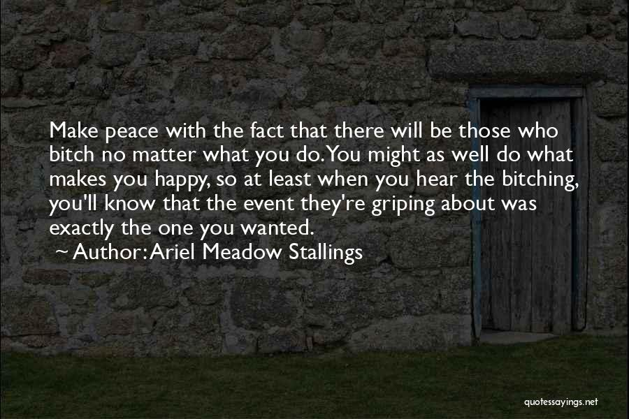 Planning An Event Quotes By Ariel Meadow Stallings