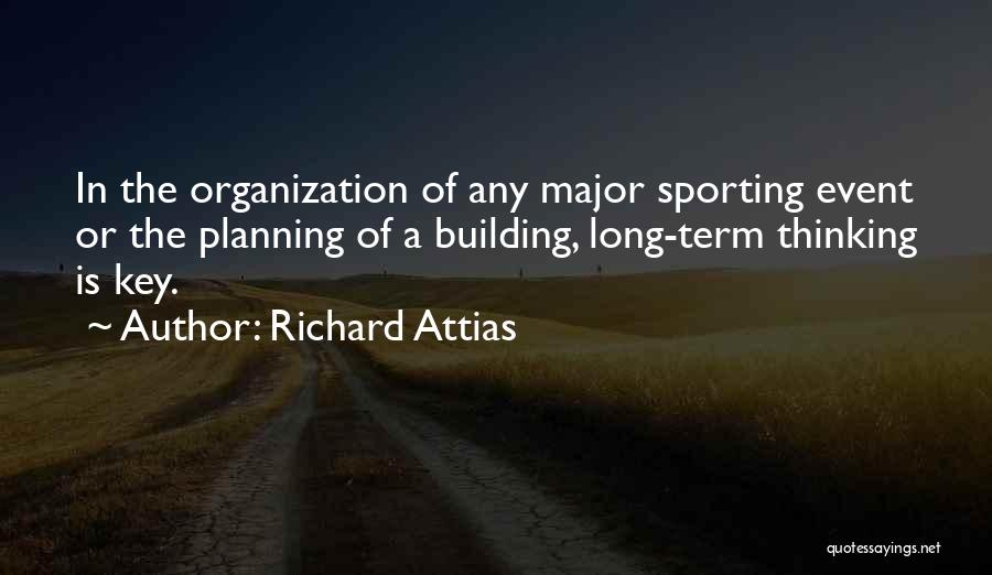 Planning An Event Quotes By Richard Attias
