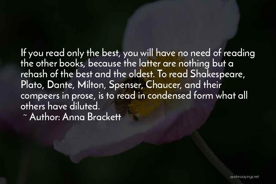 Plato Book 7 Quotes By Anna Brackett