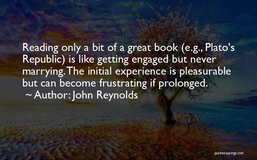 Plato Book 7 Quotes By John Reynolds